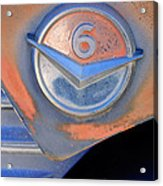 Gmc 4000 V6 Pickup Truck Emblem Acrylic Print