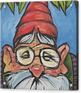 Gnome 6 Acrylic Print