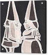 Gnome Kiss Acrylic Print