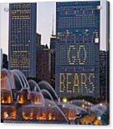 Go Bears Acrylic Print