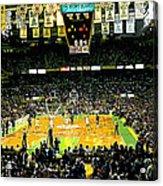 Go Celtics Acrylic Print by David Schneider