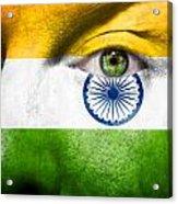 Go India Acrylic Print