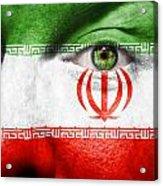 Go Iran Acrylic Print