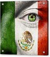 Go Mexico Acrylic Print