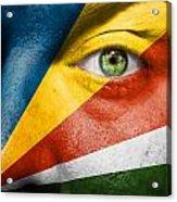 Go Seychelles Acrylic Print