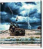 Go Though The Storm Acrylic Print