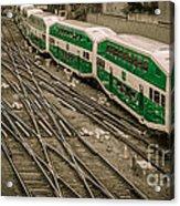 Go Train Acrylic Print