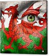 Go Wales Acrylic Print