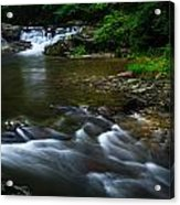 Go With The Flow Acrylic Print