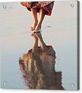 Goa Reflections  Acrylic Print