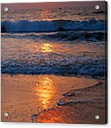Goan Sunset. India Acrylic Print