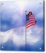 God Bless America Acrylic Print