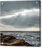 God Rays Acrylic Print by George Buxbaum