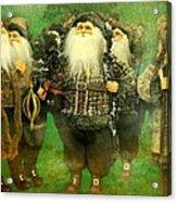 God Rest Ye Merry Gentlemen Acrylic Print