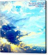 God Shine #2 Acrylic Print