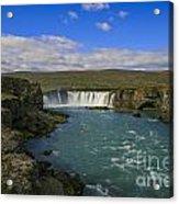 Godafoss Waterfall  Acrylic Print
