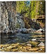 Goddard Canyon Acrylic Print