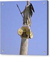 Goddess Athena Acrylic Print
