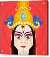 Goddess Maa Durga Acrylic Print