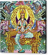 Goddess Of Asia Acrylic Print