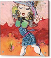 Goddess Of Beauty Acrylic Print