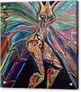 Goddess Of Cultural Fusion Acrylic Print