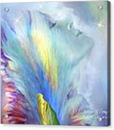 Goddess Of Thought Acrylic Print