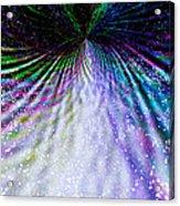 Goddess Stardust Creating Butterfly Acrylic Print