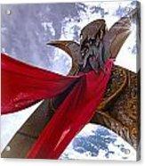 Godess Acrylic Print by David Taylor