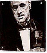 Godfather Acrylic Print by Michael Mestas