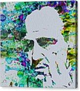 Godfather Watercolor Acrylic Print