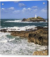 Godrevy Lighthouse - 5 Acrylic Print