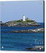 Photographs Of Cornwall Godrevy Lighthouse Acrylic Print