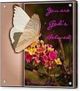 God's Beloved Acrylic Print