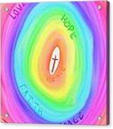 God's Colours Acrylic Print