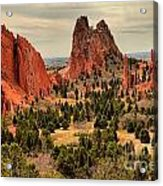 Gods Garden In Colorado Acrylic Print