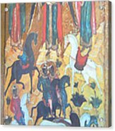 God's Horse Masters-the Deposition Acrylic Print