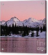 God's Light Painting At Molas Lake Acrylic Print