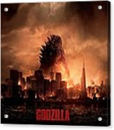 Godzilla 2014 Acrylic Print