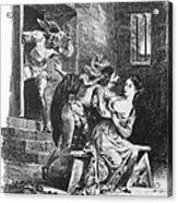 Goethe: Doctor Faust Acrylic Print