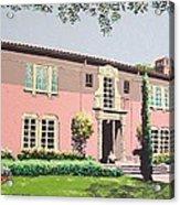 Goethe House Acrylic Print