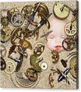 Gof Of Time Acrylic Print