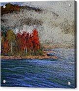 Goff Point Fog Acrylic Print