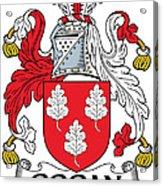 Gogan Coat Of Arms Irish Acrylic Print