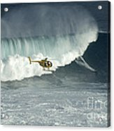 Going Left At Jaws Acrylic Print
