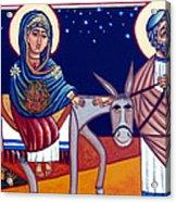 Going To Bethlehem Acrylic Print