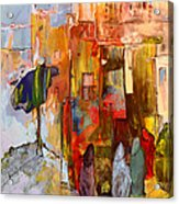 Going To The Medina In Morocco Acrylic Print