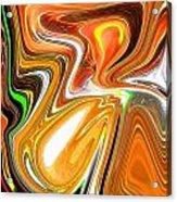 Gold 3 Acrylic Print