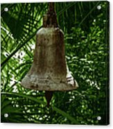 Gold Bell Acrylic Print