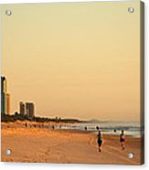 Gold Coast Beach Acrylic Print